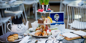 Alice In Wonderland Fans Will Love This Afternoon Tea