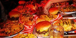 In Pictures: Monstrous London Food Challenges