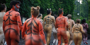 Get Your Kit Off In Regent's Park This Week