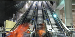 In Photos: Installing Crossrail's Escalators