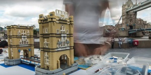 Watch As Tower Bridge Is Recreated In Lego Before Your Eyes