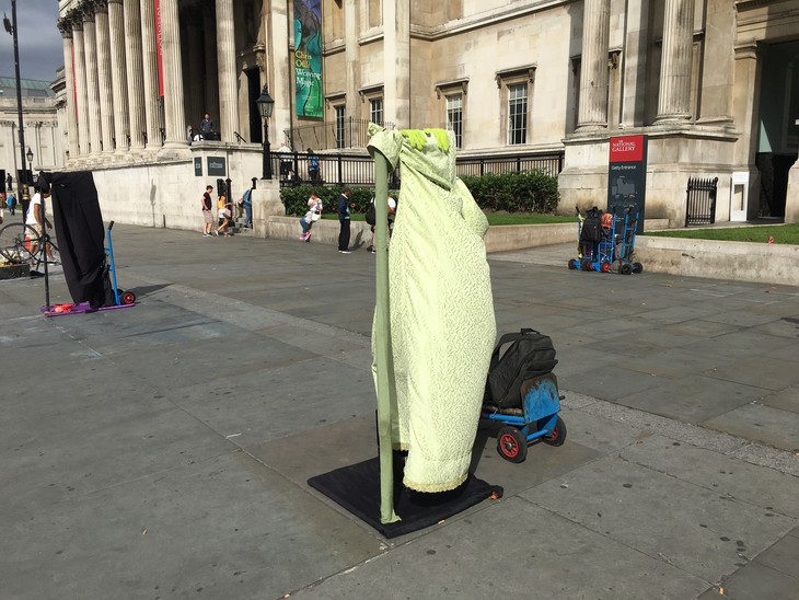 Seen The Floating Yodas In Trafalgar Square? Here Are The Men Behind The Masks