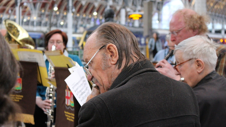 The Traditional Magic Of London's Last Railway Band
