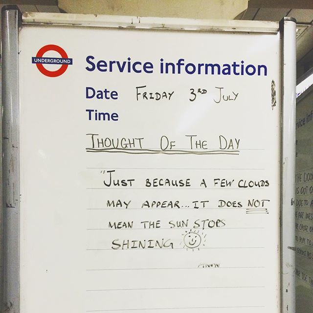 In Pictures The Best Quotes From Tube Message Boards Londonist