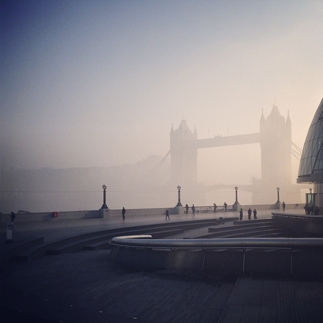 In Pictures: London Covered In Fog