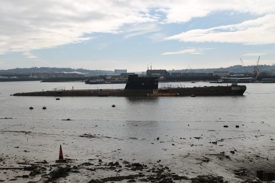 The Soviet Submarine That Once Floated On The Thames
