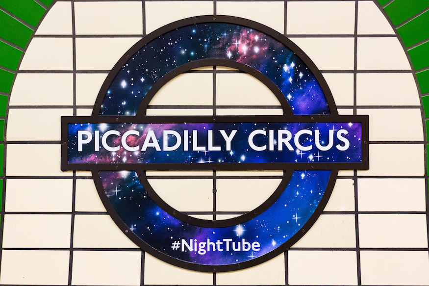 Busiest Night Tube Stations Revealed On Its First Anniversary
