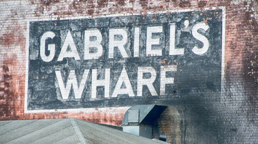 Visit Gabriel's Wharf for some seaside action