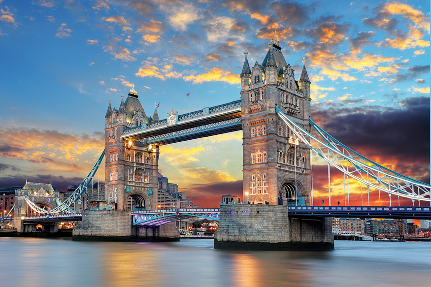 In Pictures: London Glows As The Sun Sets