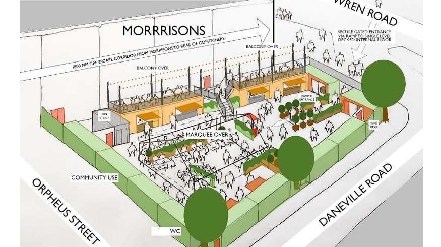 Live Near Camberwell? You Might Be Getting A 'Box Park'...