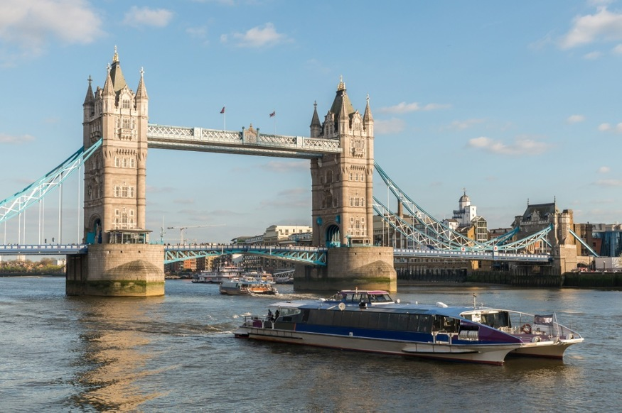 Thames Clippers is trialling a new route for commuters outside London