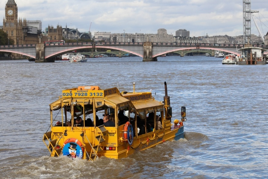 Ever Wanted To Go On A London Duck Tour? You Don't Have Long Left