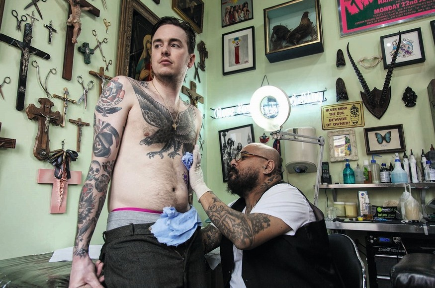 Brave Enough To Get A Tattoo? Try One Of These London Parlours