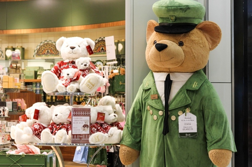 Is The Harrods Mascot Really A Security Guard Dressed As A Bear?