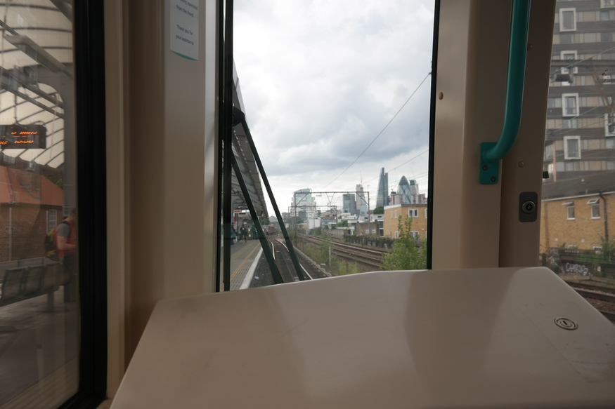 Why The Back Seat Of The DLR Is For Me