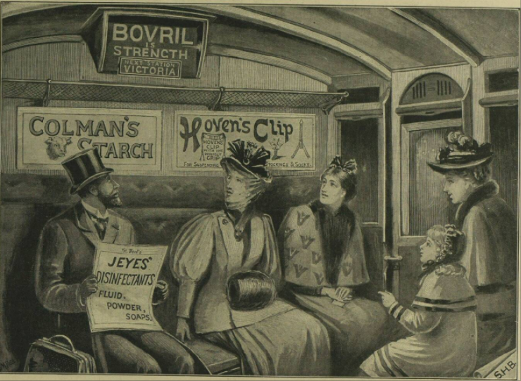 How the Victorians got sponsor messages on the underground