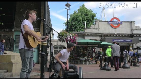 London Busker Performs A Very Different Version Of A Britney Hit