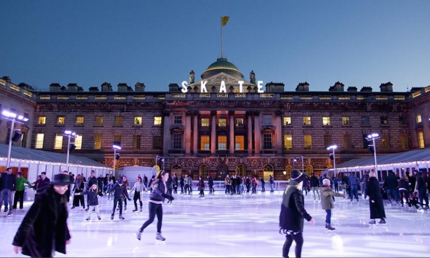 Find your nearest winter ice rink (or try them all)