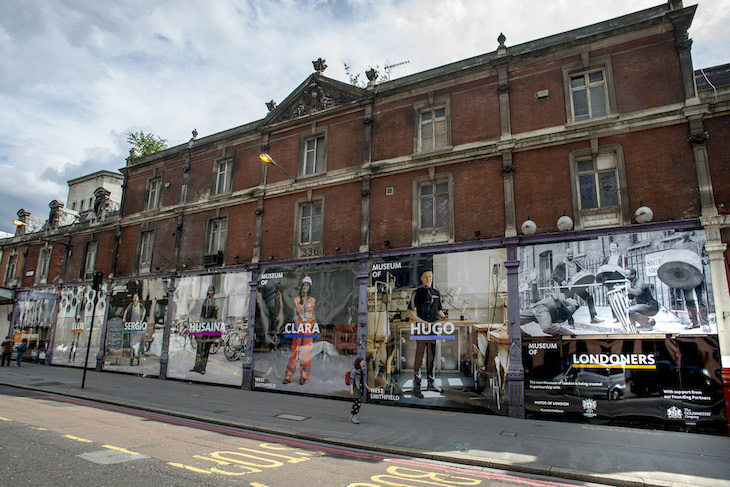 Come Face To Face With Giant Londoners In Smithfield