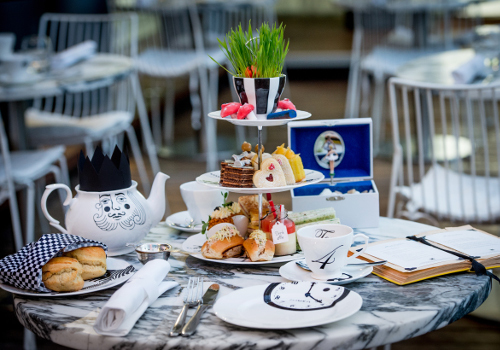 Love Alice In Wonderland? You've Got To Try This Afternoon Tea