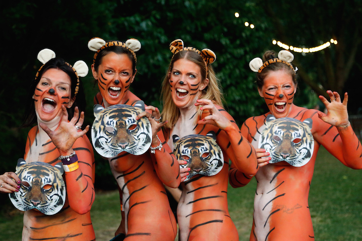 Need something to do on Thursday? Get naked at London Zoo