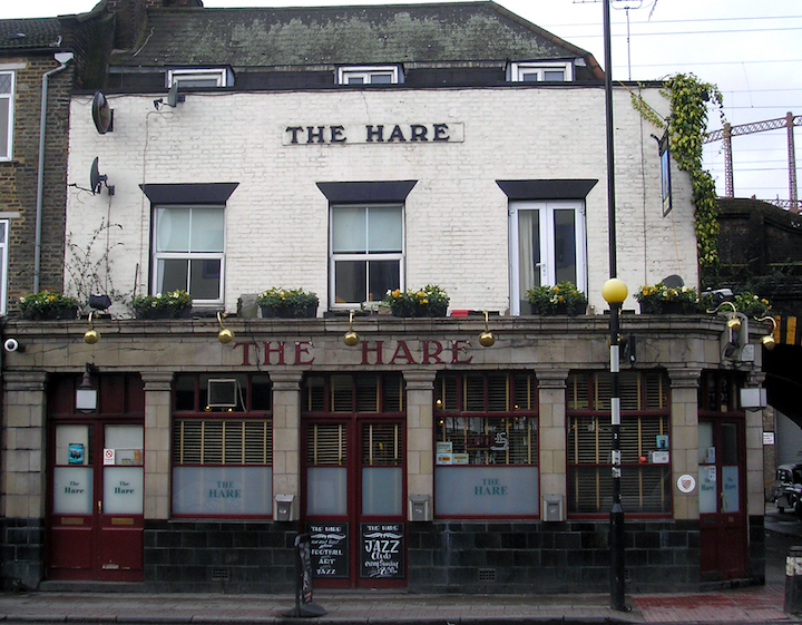 The Hare, Cambridge Heath Road