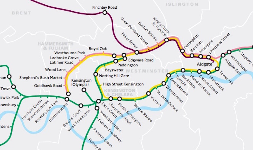 Something's Not Quite Right With This Tube Map...