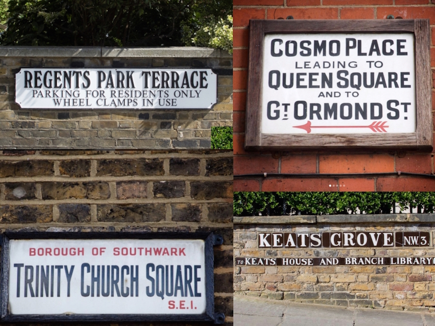 This Instagram account, which documents London's street signs, is a thing of wonder