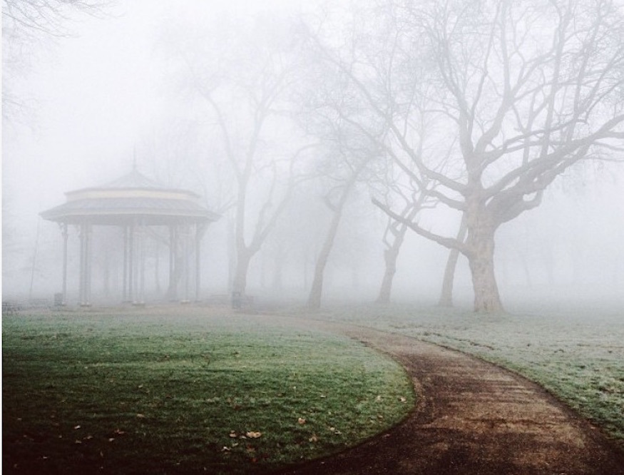 London looks haunting in these photos