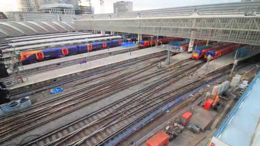 The Fluorescent Army Of Engineers Moves In At Waterloo