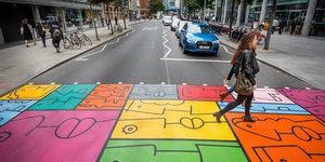 Seen This Colourful Crossing In Bankside?