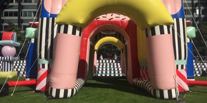 Check Out This Gaudy Inflatable Sculpture In Broadgate