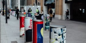 Have You Spotted These Arty Bollards Outside London Bridge Station?