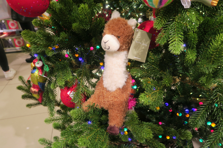 could it be that santas reindeers are striking for a four day working week and its time for the overlooked north pole llamas to save christmas day - Day After Christmas Ads