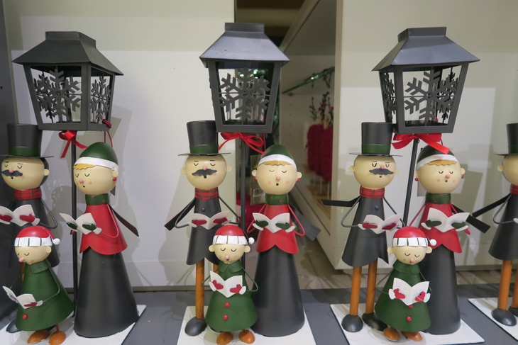 Christmas Carol Singers Figurines.Guessing What The John Lewis Christmas Ad Will Be This Year