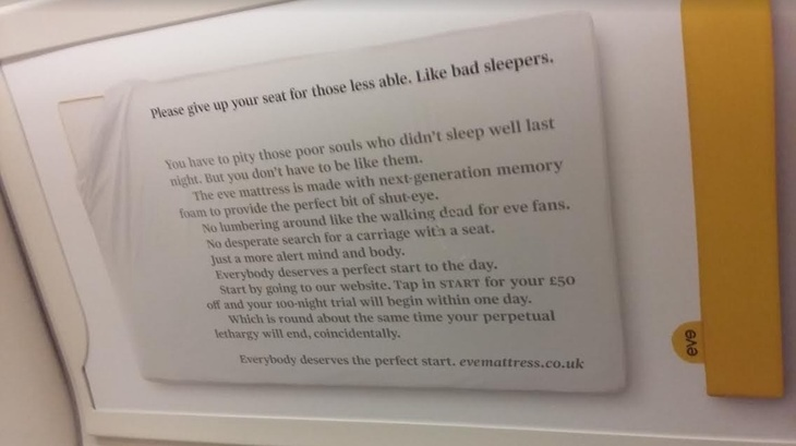 We Want Your Images Of Tenuous Tube Ads
