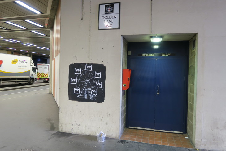 New Banksy alert: underneath the Barbican