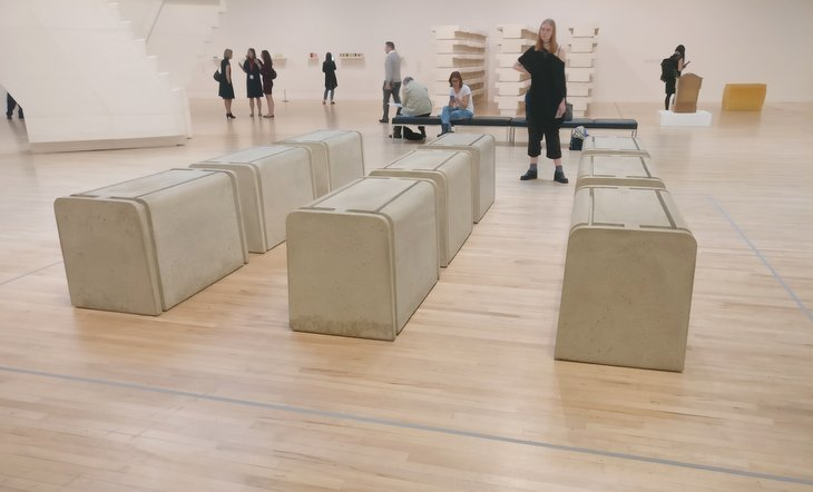 Casts Of Bookshelves, A Room And A Stairwell In This Monumental Exhibition