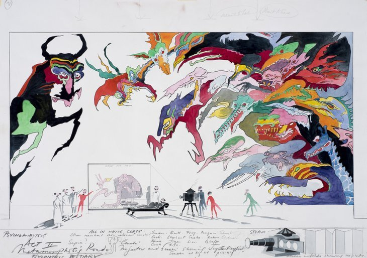 Costumes, Animation And Set Design: The Versatile World Of Gerald Scarfe