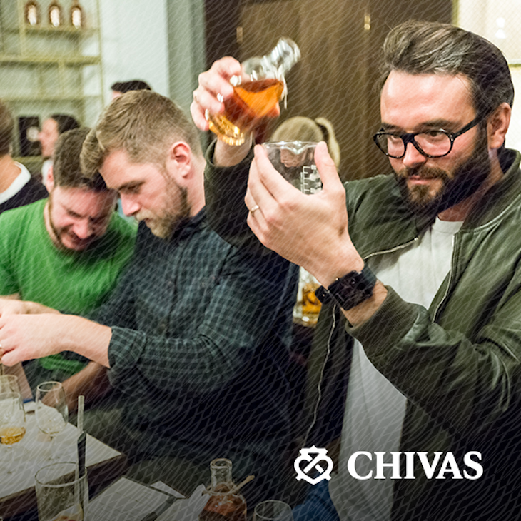 Learn how to blend whisky like a pro with this Chivas Regal masterclass