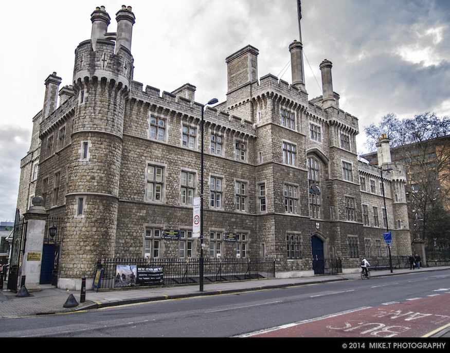 Ever noticed this castle in east London? It's a fake