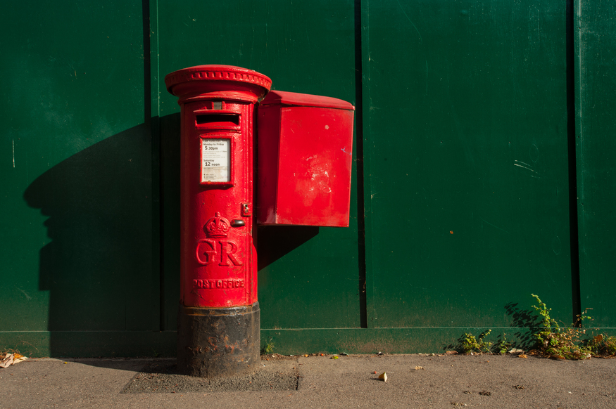 Keep your eyes peeled for these post boxes