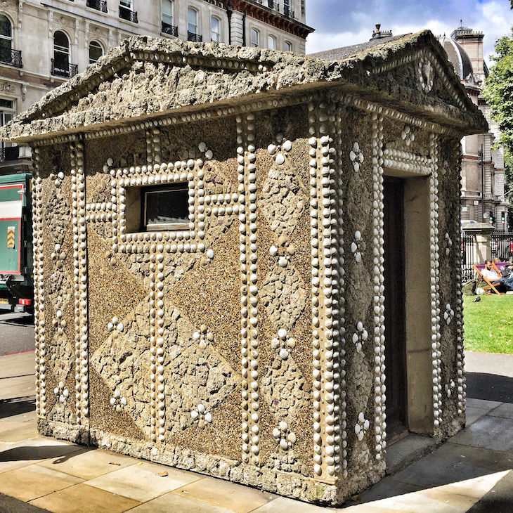 What Are The Shell Huts In Grosvenor Gardens?