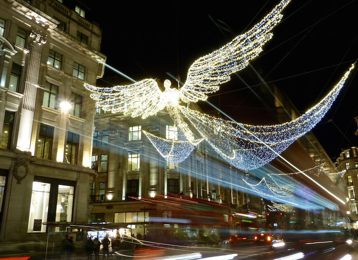 Image result for christmas lights oxford street 2017