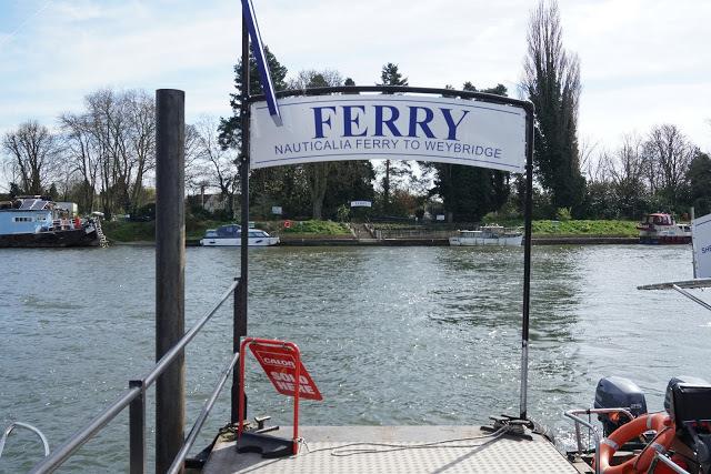 From Shepperton To Weybridge... By Water