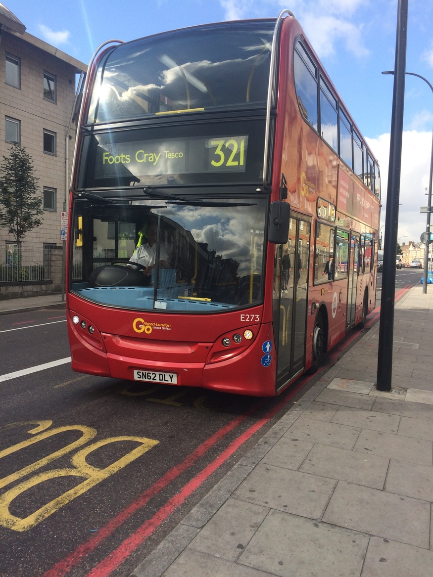 how to catch bus in london