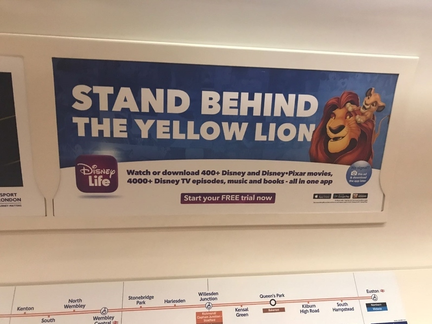 Seen A Tenuous Tube Ad? Send Us A Snap   Londonist
