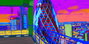 A Colourful Makeover For The Square Mile's Skyscrapers