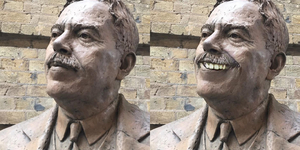 We Cheered Up London's Frowning Statues