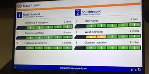 TfL Are Trialing A New Screen That Shows How Busy Trains Are